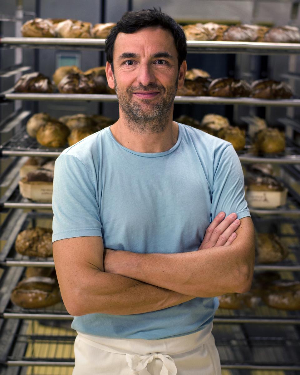Patrick Gomez - Boulangerie Bio à Paris - livraison à domicile